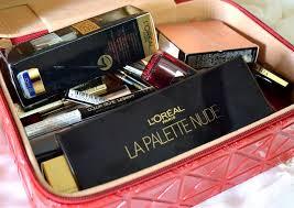 loreal paris makeup unboxing festive fever