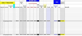 Sales Tracking Excel Template