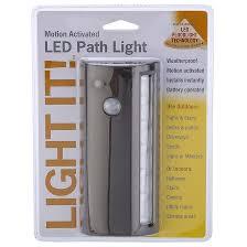 Fulcrum Light Fulcrum Wireless Motion Sensor Path Light 6 Led