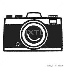 カメラ かわいい イラスト レトロの写真素材 Pixta