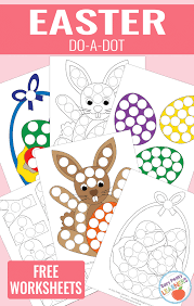 Free Easter Do A Dot Printables Easy Peasy Learners