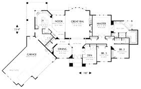 Traditional Style House Plan   4 Beds 2.50 Baths 3242 Sq/Ft Plan #48