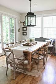 How To Decorate Dining Table When Not In Use Rustic Table - Rustic chairs for dining room