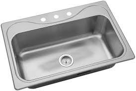 Sterling By Kohler Southhaven 33 L X 22 W Single Basin Sink