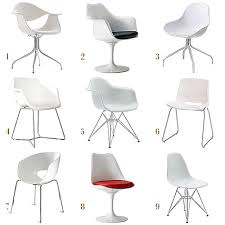molded plastic dining chairs. White Molded Chairs Making It Lovely Plastic Modern Dining I