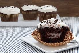 hershey cookies and cream cupcakes. Plain Cupcakes Cookies And Cream Filled Cupcakes Throughout Hershey And S