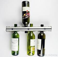Bar Bottle Display Stand Amazing 32 Creative 32 Holes 32 Holes Stainless Steel Wine Holders Kitchen