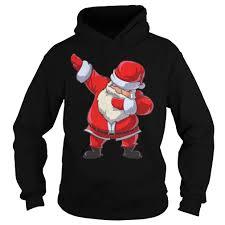 dabb dance. santa claus dabbing christmas funny dab dance gifts hoodie dabb