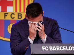 عاجل: ميسي يبكي ويحدد وجهته الكروية ضمن مؤتمر الوداع في نادي برشلون - تركيا  هاشتاغ