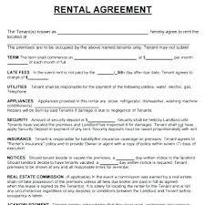 Free Rental Application Form Ontario Residential Tenancy Agreement