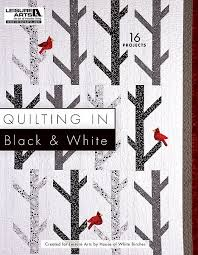 Black And White Quilt Patterns Fascinating Quilting In Black White48 New Quilt Patterns Leisure Arts Blog