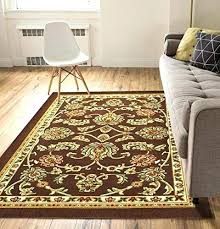 non skid area rugs rubber backed area rugs non skid slip rubber back antibacterial 5 x