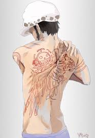 Luffy as he tries to save his brother portgas d. Tattoo Trafalgar D Water Law One Piece Trafalgar Law Favorite Character One Piece