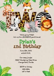 Jungle Theme Birthday Invitations Jungle Theme Birthday Invitations Zazzle Uk