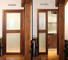 indoor door sliding wooden glass frm con sm