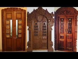 room door designs. Pooja Room Doors// Wooden Door Frame And Designs