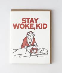 Kid Cards Stay Woke Kid Card 7 Funny Mrs Claus Holiday Cards Popsugar