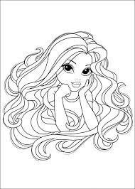 Kleurplaat Moxie Girlz Animaatjesnl