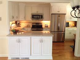 Poplar For Cabinets Aspect Cabinetry White Thermafoil Raised Panel Doors And American