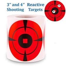 PhotonDynamic Reactive Target Stickers Bullseye ... - Amazon.com