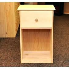 unfinished pine nightstand. Unfinished Pine Nightstand Wood And