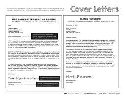 Cover Letter Resume Letters Cover Leversetdujour 77