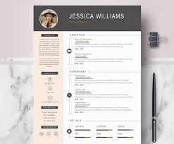 Unique Cv Template Modern Time To Regift