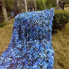 Blue Camouflage Party Decorations 4m4m Camo Netting Blue Camouflage Netting Camo Tarp Camouflage