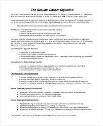 Career objective statements engineering        Original