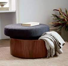 upholstered storage diy storage ottoman