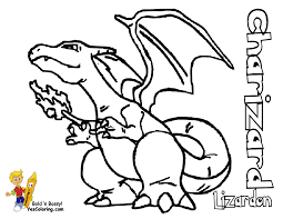 Free Pokemon Coloring Pages Best Page Charizard Full By Best Free