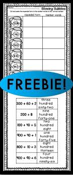 Use this FREE expanded form worksheet with your 1st, 2nd, or 3rd ...