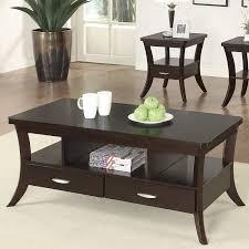 Home Furnishings Amazoncom Coaster Home Furnishings 900166 Coffee Table Espresso