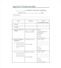 Ministry Meeting Agenda Template Church Meeting Agenda Template