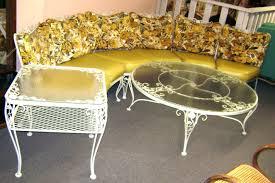 Astonishing Antique Wrought Iron Patio Furniture Mforum Pict Of