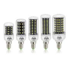Flux Led Lights Us 1 48 21 Off Ultra High Luminous Flux Smart Power Ic Led Bulb 4014 Smd E14 Led Corn Bulb Chandelier Ac 220v 38 55 78 88 140leds Led Light In Led