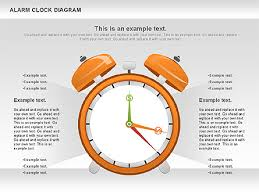 Clock Chart Template Alarm Clock Chart Presentation Template For Google Slides