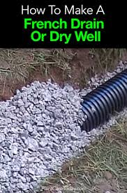 french drain construction. Beautiful French To French Drain Construction E