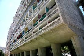 Unité Dhabitation Le Corbusiers Proto Brutalist Urban Sky