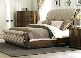 upholstered leather sleigh bed. Leather Tufted Bed Two Motifs Of Sleigh Beautiful Intended For New Residence . Upholstered E