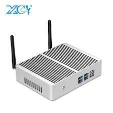XCY X32 Fanless <b>Mini PC Intel</b> Core i7 4610Y i5 4210Y i3 4010Y ...