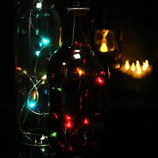Flickering String Lights Amazon Com Dellukee 96 Pcs Room String Lights Battery