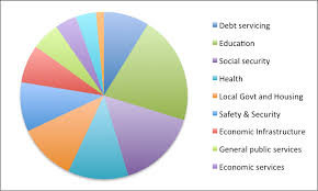 National Budget 2016 Pie Chart Simplifying Budget 2014 Debt Servicing Starting To Eat Into