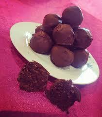 vegan chocolate brownie bites
