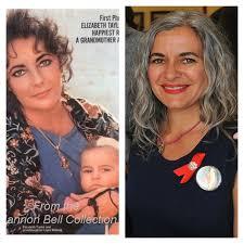 elizabeth taylor children. Contemporary Elizabeth Laela Wilding Then And Now For Elizabeth Taylor Children