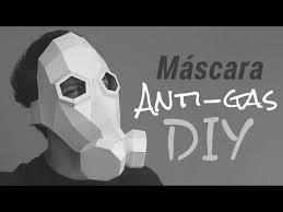 anti gas con papel opalina momuscraft