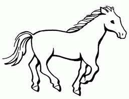 Small Picture Image result for horse kids line drawing animal line drawings