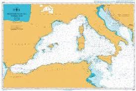 Imray Charts Mediterranean Admiralty Chart 4301 Mediterranean Sea West Part Todd