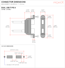 frontx mother board usb pin assignment usb header pinout diy panel cut out connector dimensions