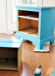 Small Picture Chalky Paint Rescues Old Nightstand Destined for the Curb
